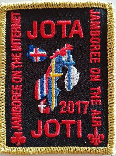 Det nordiske mærke for JOTA-JOTI for 2017